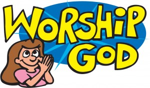 Worship God Sign